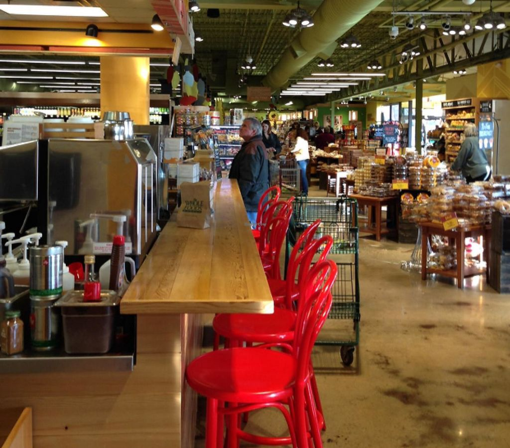 """Photo of Whole Foods Market - 41St  by <a href=""""/members/profile/NomNomNominator"""">NomNomNominator</a> <br/>counter tops at the juice & sandwich bar <br/> December 29, 2013  - <a href='/contact/abuse/image/2411/217903'>Report</a>"""