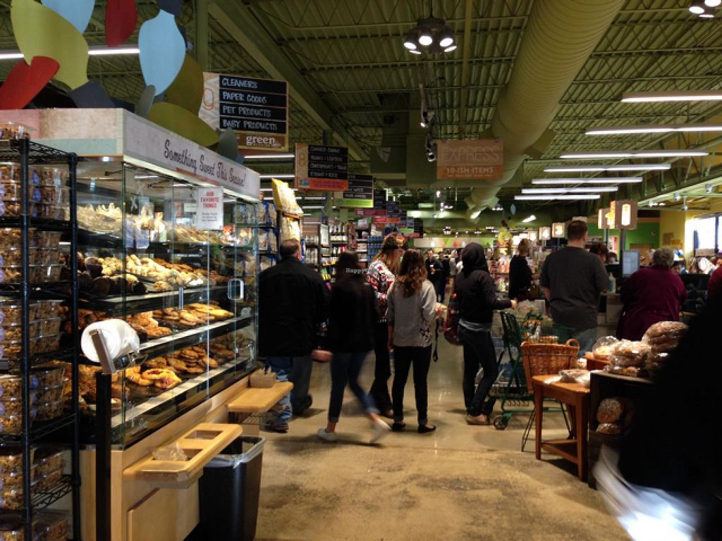 """Photo of Whole Foods Market - 41St  by <a href=""""/members/profile/NomNomNominator"""">NomNomNominator</a> <br/>busy Xmas in the bread area  <br/> December 29, 2013  - <a href='/contact/abuse/image/2411/61200'>Report</a>"""