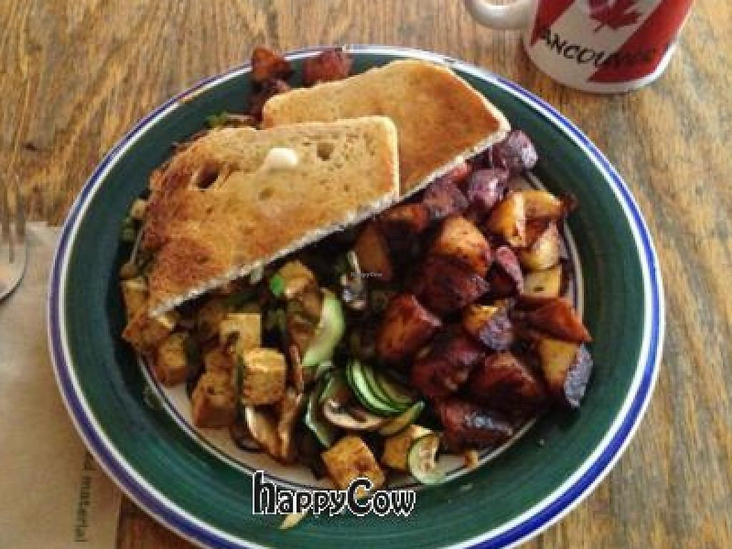 """Photo of Interzone  by <a href=""""/members/profile/Jeff%20M"""">Jeff M</a> <br/>vegan veggie scramble <br/> January 26, 2013  - <a href='/contact/abuse/image/2413/218814'>Report</a>"""