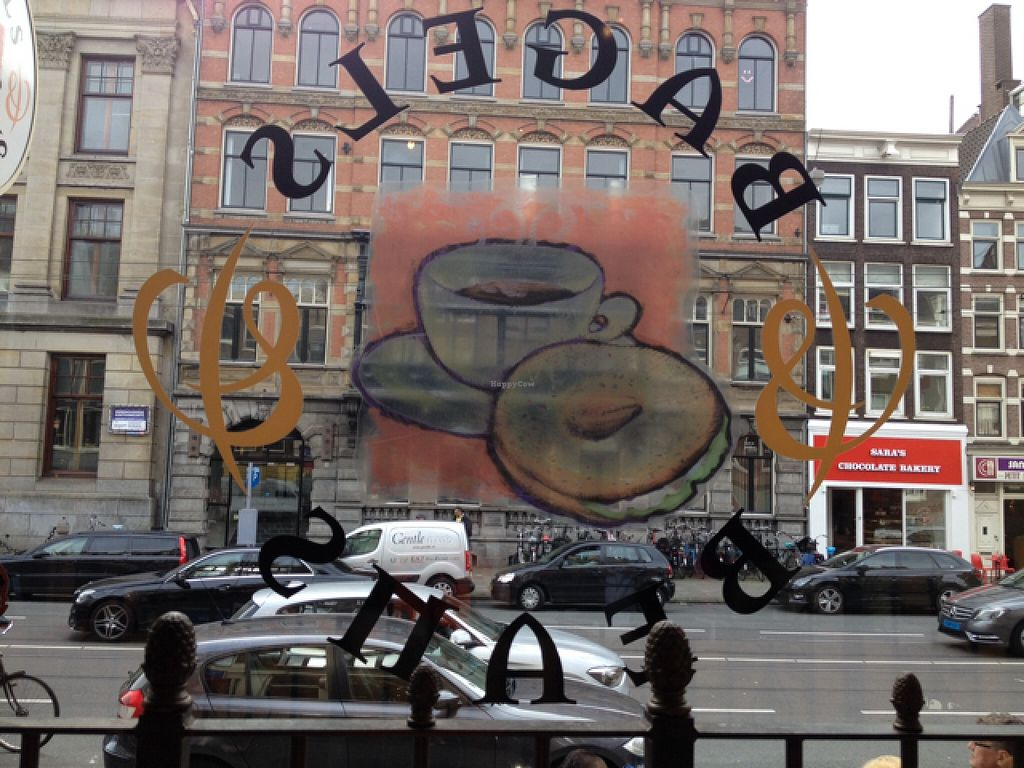 """Photo of Bagels & Beans - Raadhuisstraat  by <a href=""""/members/profile/hack_man"""">hack_man</a> <br/>Window Seat View - Nice <br/> October 3, 2015  - <a href='/contact/abuse/image/24140/119943'>Report</a>"""