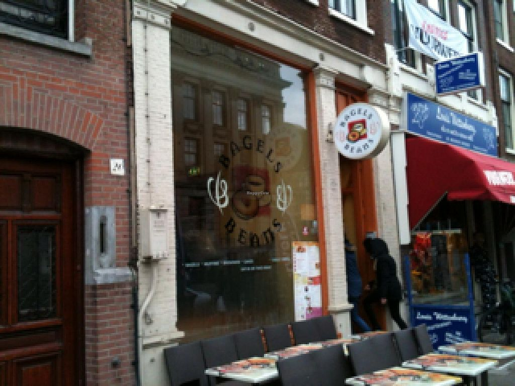 """Photo of Bagels & Beans - Raadhuisstraat  by <a href=""""/members/profile/hack_man"""">hack_man</a> <br/>Outside <br/> December 31, 2013  - <a href='/contact/abuse/image/24140/61351'>Report</a>"""