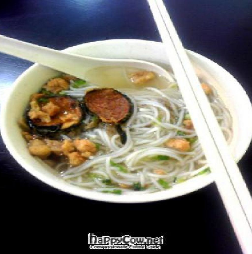 "Photo of Tien Chen Vegetarian  by <a href=""/members/profile/Grapevine"">Grapevine</a> <br/>fish soup vermicelli  <br/> November 27, 2011  - <a href='/contact/abuse/image/24155/194728'>Report</a>"