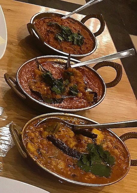 """Photo of Shayona  by <a href=""""/members/profile/MargoLondinium"""">MargoLondinium</a> <br/>5 Veg Dhal, Stuffed Aubergine and Spicy Soya Mince <br/> October 3, 2017  - <a href='/contact/abuse/image/24156/311297'>Report</a>"""