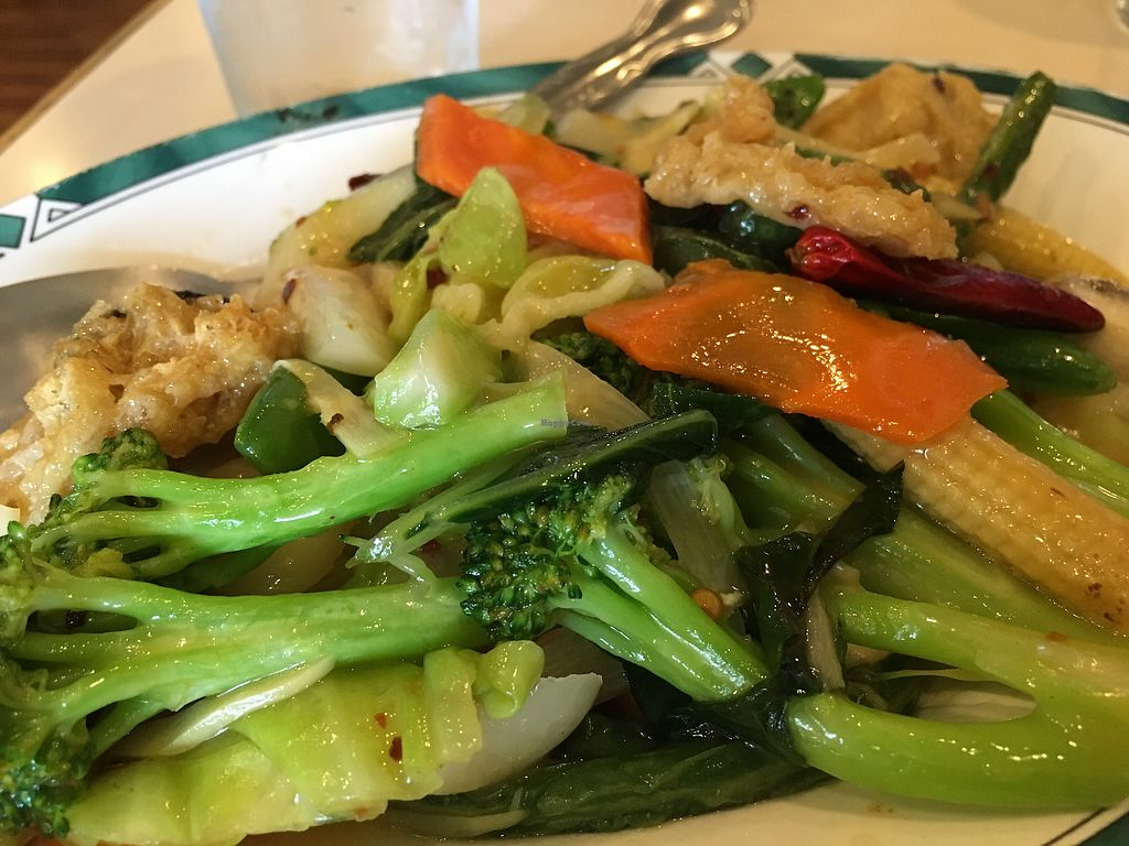 """Photo of Lotus Garden  by <a href=""""/members/profile/Veg4Jay"""">Veg4Jay</a> <br/>Vegetable Deluxe gf (lunch) <br/> August 4, 2017  - <a href='/contact/abuse/image/2417/288755'>Report</a>"""