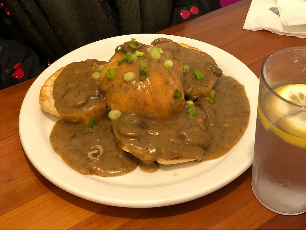 "Photo of Morning Glory Cafe  by <a href=""/members/profile/Bariann"">Bariann</a> <br/>Vegan Biscuits 'n' Gravy <br/> December 20, 2017  - <a href='/contact/abuse/image/2418/337580'>Report</a>"