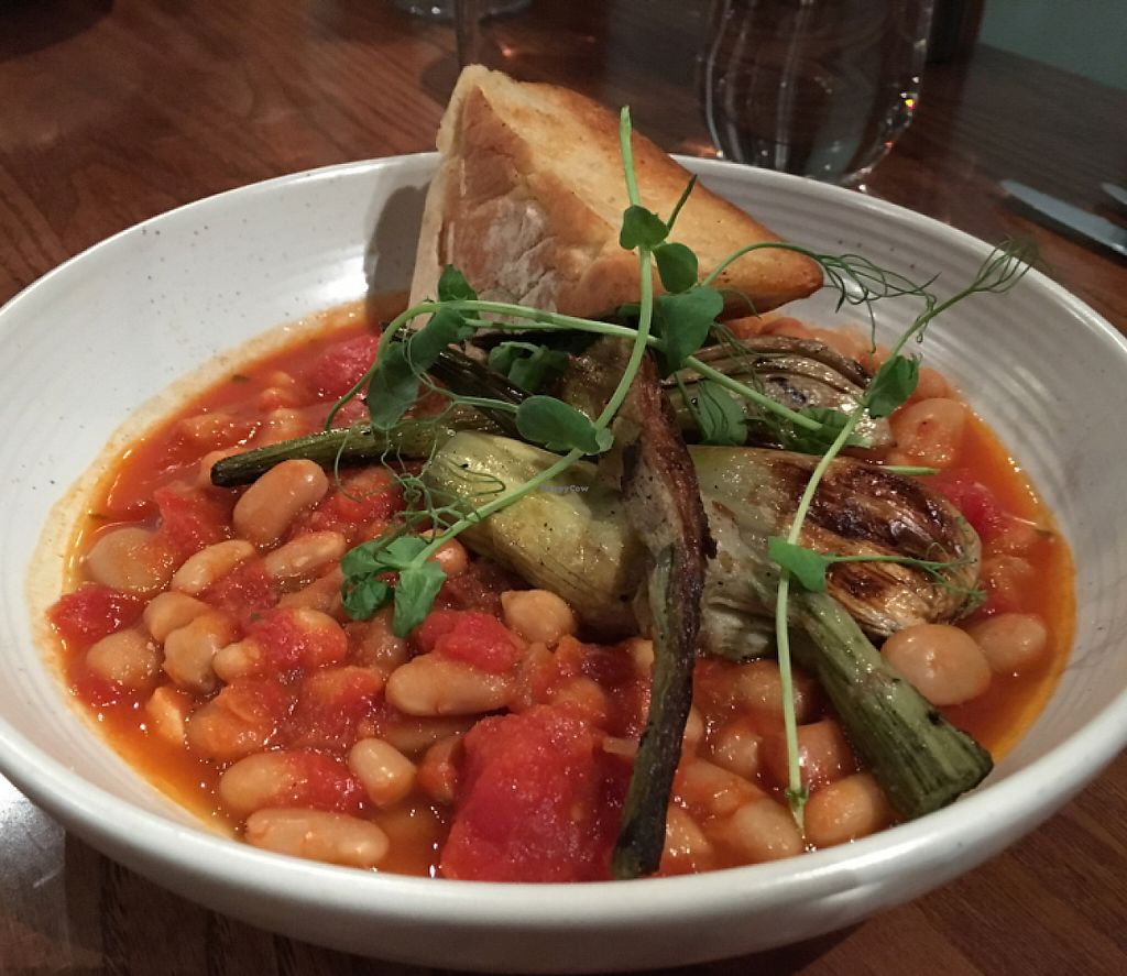 """Photo of Hectors Restaurant  by <a href=""""/members/profile/AimeeS"""">AimeeS</a> <br/>Chickpea Cassoulet <br/> May 14, 2017  - <a href='/contact/abuse/image/24198/258622'>Report</a>"""