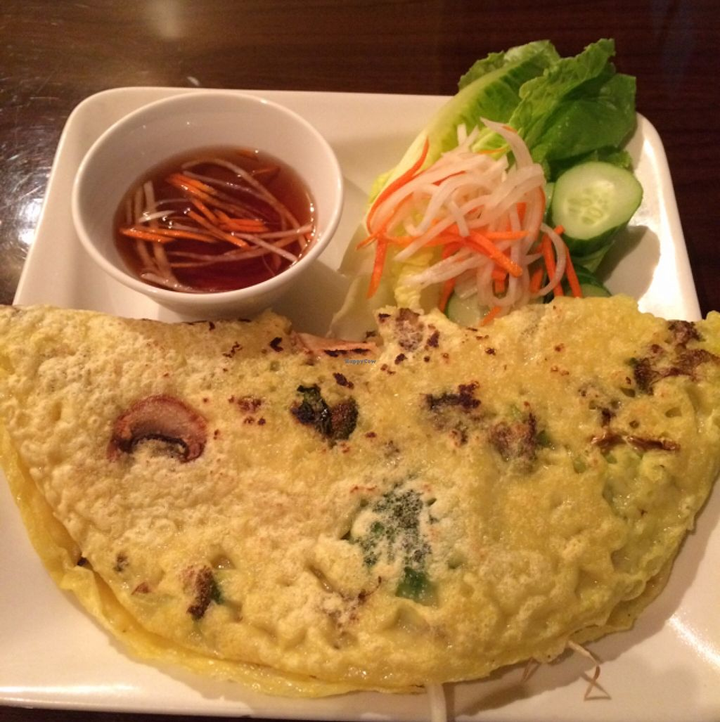 """Photo of Simple Joy  by <a href=""""/members/profile/serenacarey"""">serenacarey</a> <br/>delicious Vietnamese pancake - both vegan and gluten-free <br/> September 20, 2015  - <a href='/contact/abuse/image/24209/118487'>Report</a>"""
