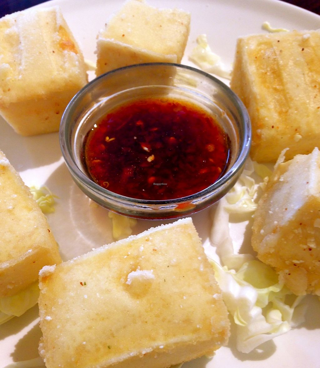 """Photo of Simple Joy  by <a href=""""/members/profile/myra975"""">myra975</a> <br/>Fried Tofu (6 pcs) $4.95 <br/> April 6, 2016  - <a href='/contact/abuse/image/24209/199259'>Report</a>"""