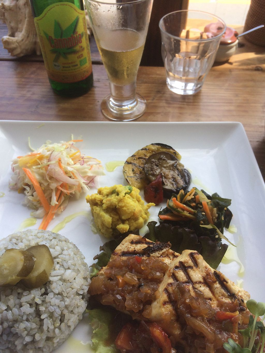 "Photo of Magokoro  by <a href=""/members/profile/HollyRoseRobinson"">HollyRoseRobinson</a> <br/>veggie set menu <br/> July 29, 2017  - <a href='/contact/abuse/image/24236/286101'>Report</a>"
