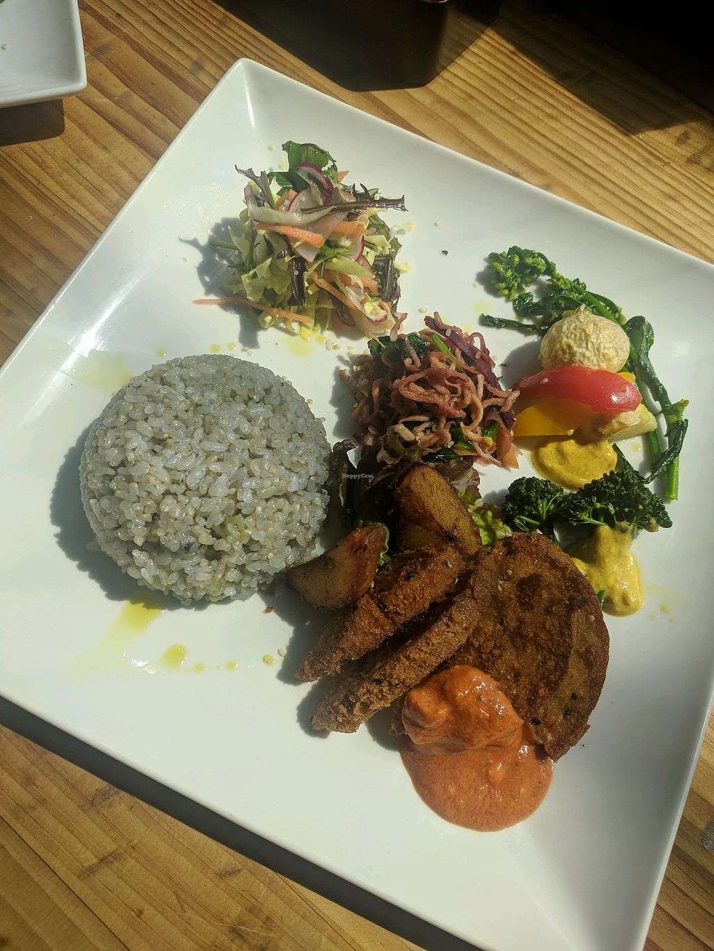 "Photo of Magokoro  by <a href=""/members/profile/alisahimsa"">alisahimsa</a> <br/>Lunch plate (also came with small soup) <br/> March 30, 2018  - <a href='/contact/abuse/image/24236/378113'>Report</a>"