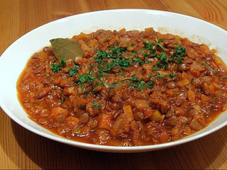 "Photo of Prasadam  by <a href=""/members/profile/Lynn555"">Lynn555</a> <br/>Lentil stew <br/> October 10, 2016  - <a href='/contact/abuse/image/24238/181207'>Report</a>"