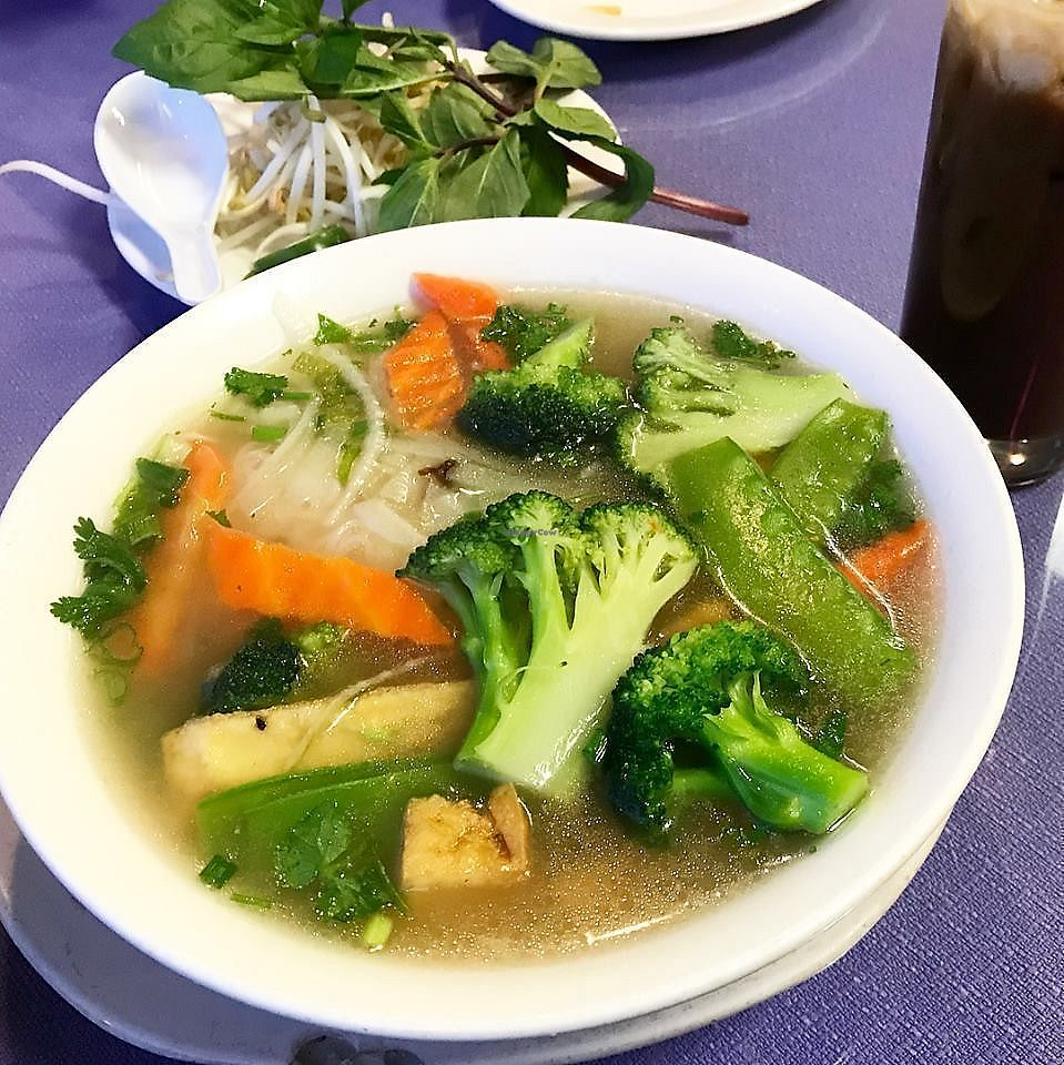 """Photo of Pho Vina  by <a href=""""/members/profile/YanethGris"""">YanethGris</a> <br/>Vegan pho <br/> January 13, 2018  - <a href='/contact/abuse/image/24270/346009'>Report</a>"""
