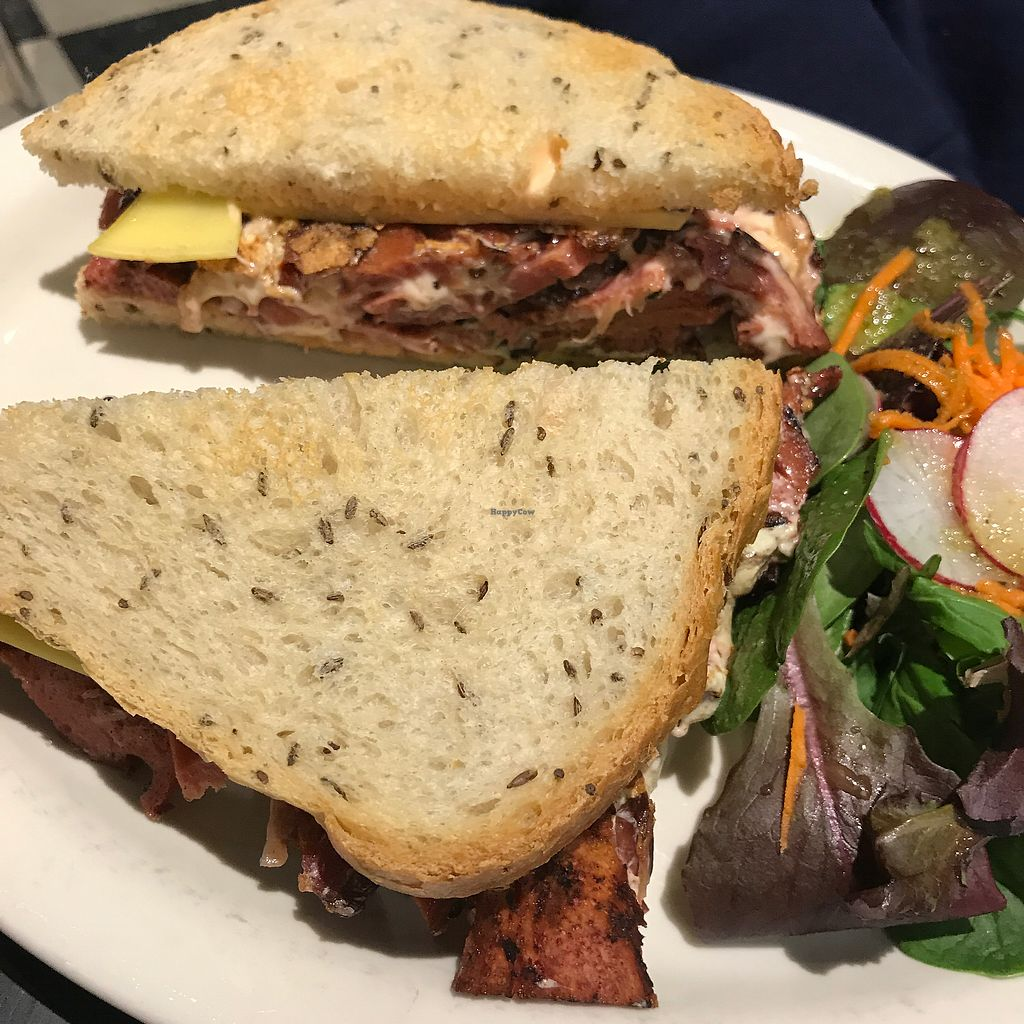 "Photo of Champs Diner  by <a href=""/members/profile/The%20London%20Vegan"">The London Vegan</a> <br/>Rueben sandwich  <br/> November 14, 2017  - <a href='/contact/abuse/image/24286/325653'>Report</a>"
