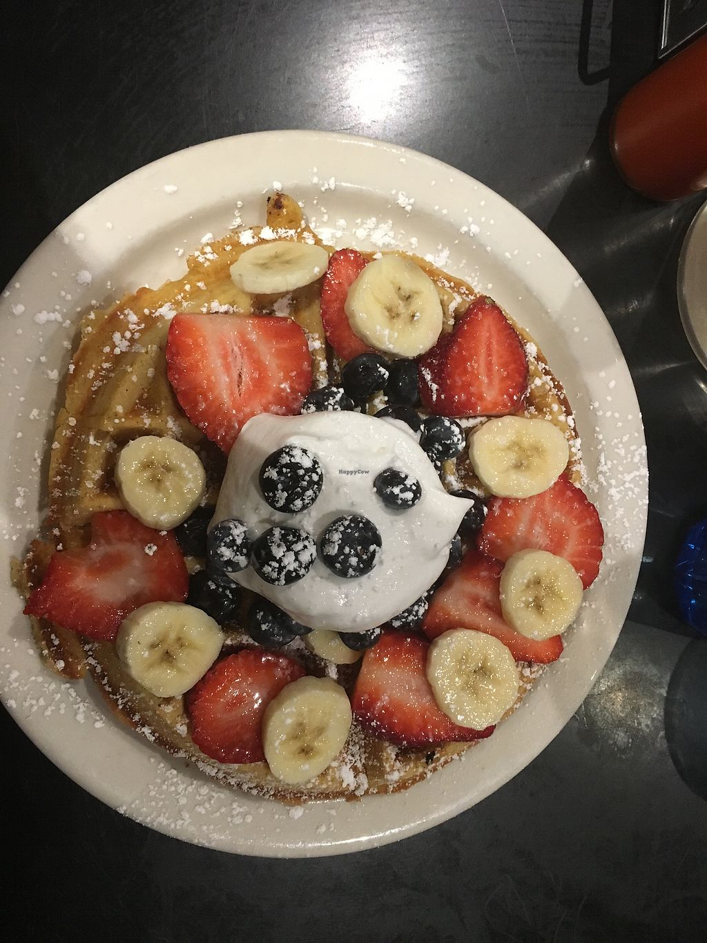 "Photo of Champs Diner  by <a href=""/members/profile/Franzi-Frenz"">Franzi-Frenz</a> <br/>Vegan waffle  <br/> February 20, 2018  - <a href='/contact/abuse/image/24286/361526'>Report</a>"