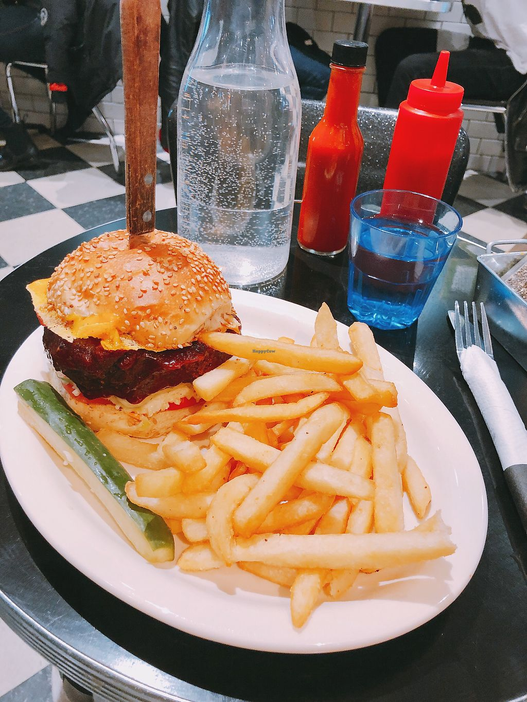 "Photo of Champs Diner  by <a href=""/members/profile/janitajasmin"">janitajasmin</a> <br/>BBQ Seitan Burger <br/> March 13, 2018  - <a href='/contact/abuse/image/24286/370126'>Report</a>"