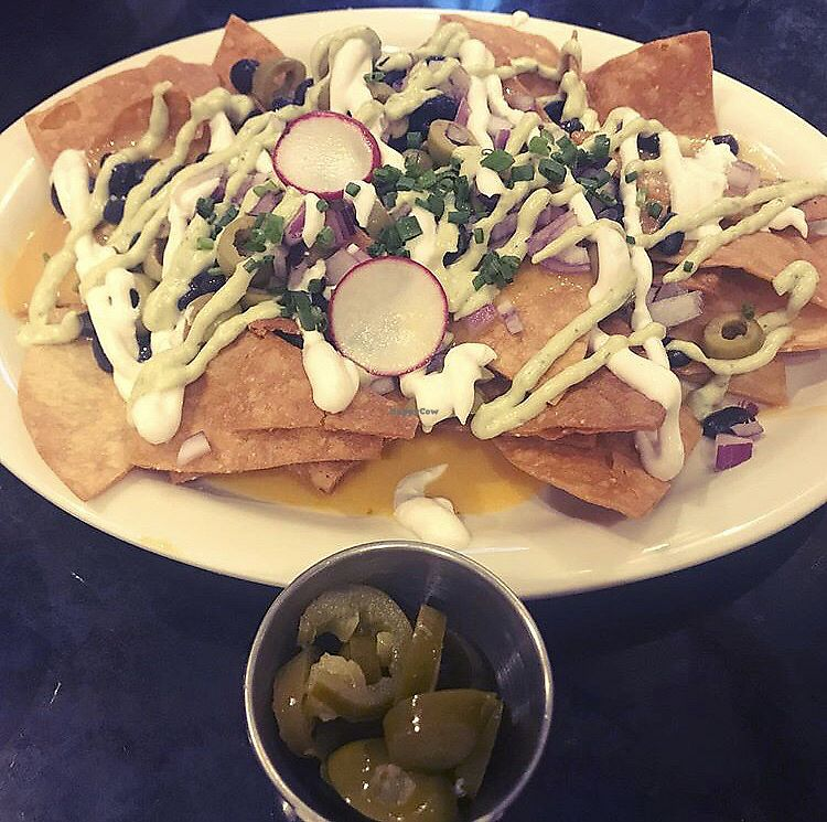 "Photo of Champs Diner  by <a href=""/members/profile/Tabgreenvegan"">Tabgreenvegan</a> <br/>Nachos! <br/> March 29, 2018  - <a href='/contact/abuse/image/24286/377840'>Report</a>"