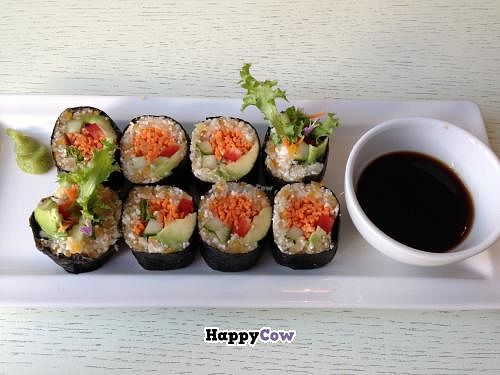 "Photo of Botanique  by <a href=""/members/profile/veggieriga"">veggieriga</a> <br/>raw sushi <br/> September 2, 2013  - <a href='/contact/abuse/image/24304/54181'>Report</a>"