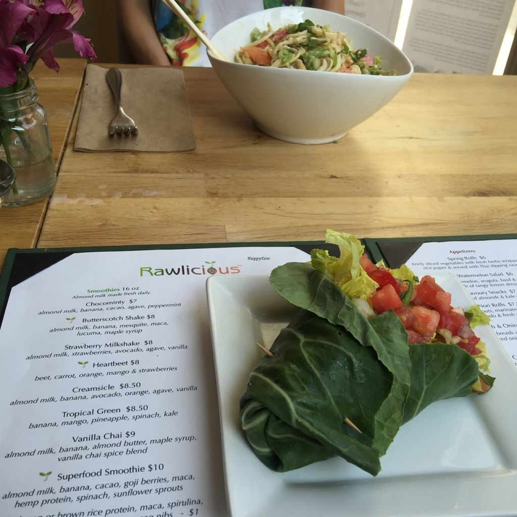 """Photo of CLOSED: Rawlicious - Yorkville  by <a href=""""/members/profile/YahelSherman"""">YahelSherman</a> <br/>Taco Warp <br/> August 19, 2015  - <a href='/contact/abuse/image/24307/114309'>Report</a>"""