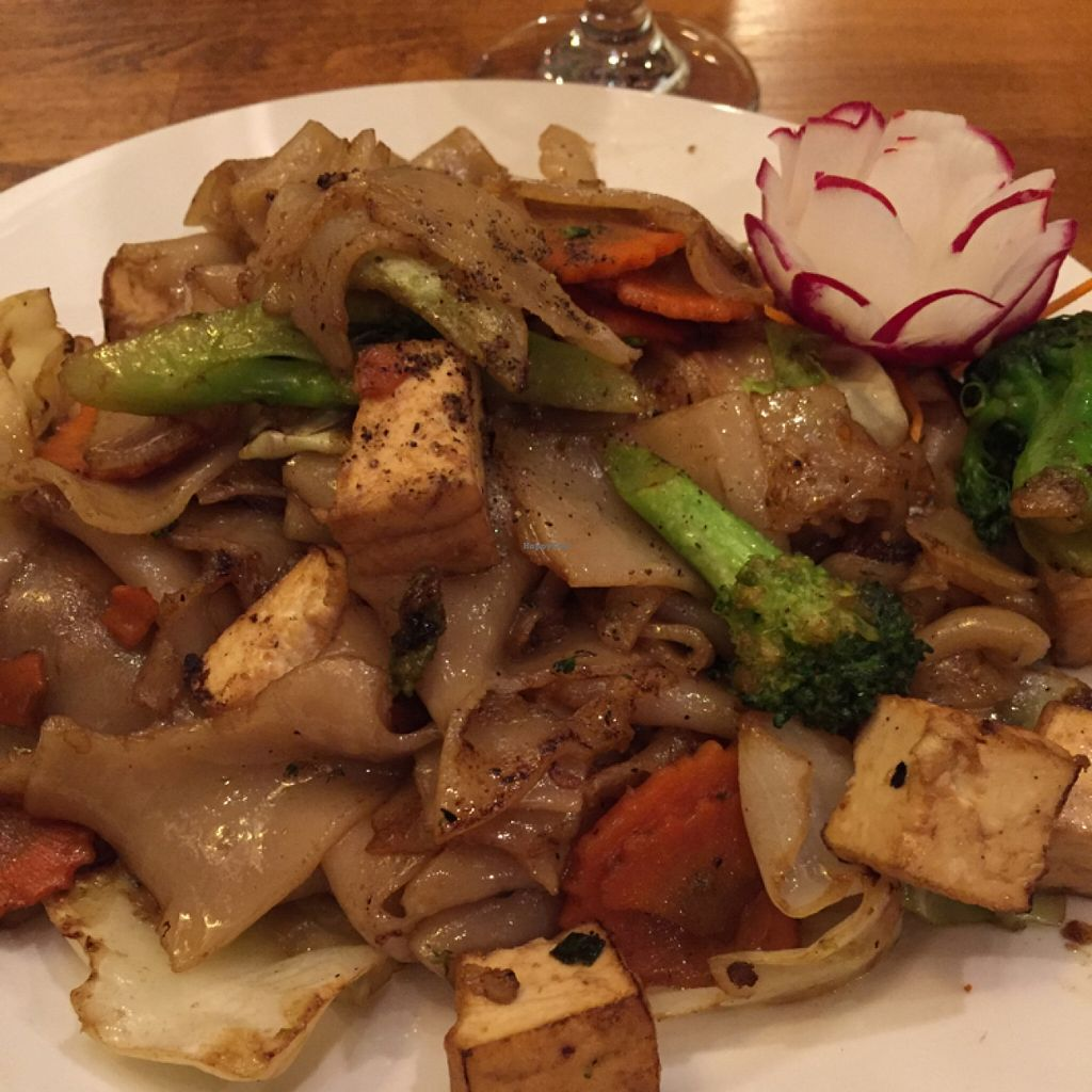 """Photo of Thai Essence  by <a href=""""/members/profile/happycowgirl"""">happycowgirl</a> <br/>Pad See Ew with tofu <br/> February 29, 2016  - <a href='/contact/abuse/image/24357/138231'>Report</a>"""