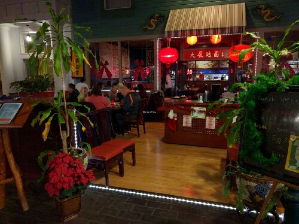 """Photo of Dragon Palace  by <a href=""""/members/profile/The%20Hungry%20Vegan"""">The Hungry Vegan</a> <br/>Indoor patio <br/> December 20, 2015  - <a href='/contact/abuse/image/24358/129175'>Report</a>"""