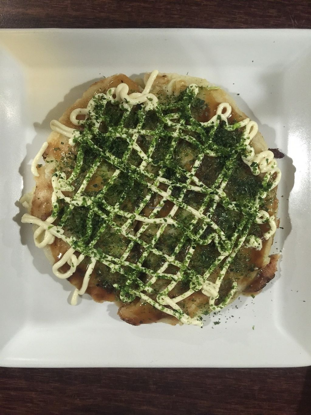 """Photo of Vegetable Kitchen Bar Aju  by <a href=""""/members/profile/Brieeeeayy"""">Brieeeeayy</a> <br/>Okonomiyaki  <br/> June 15, 2017  - <a href='/contact/abuse/image/24359/269350'>Report</a>"""