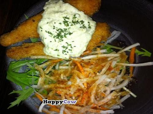 """Photo of Vegetable Kitchen Bar Aju  by <a href=""""/members/profile/Vegeiko"""">Vegeiko</a> <br/>Vegan shrimp fries, really, its NOT shrimp but taste like it!!! <br/> August 11, 2013  - <a href='/contact/abuse/image/24359/53120'>Report</a>"""