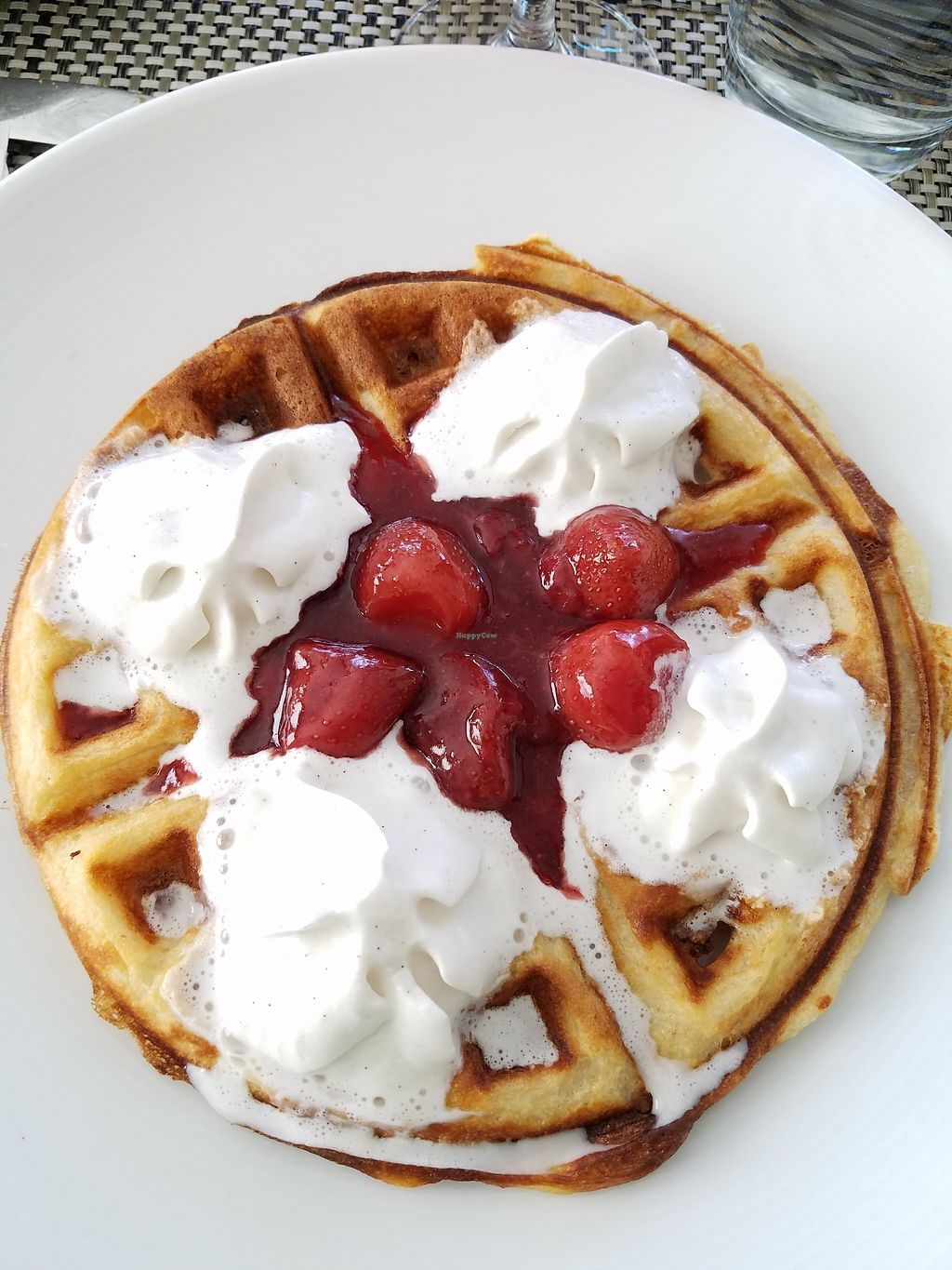 """Photo of True Bistro  by <a href=""""/members/profile/MoniqueGS"""">MoniqueGS</a> <br/>Strawberry Waffle <br/> July 17, 2017  - <a href='/contact/abuse/image/24373/281437'>Report</a>"""