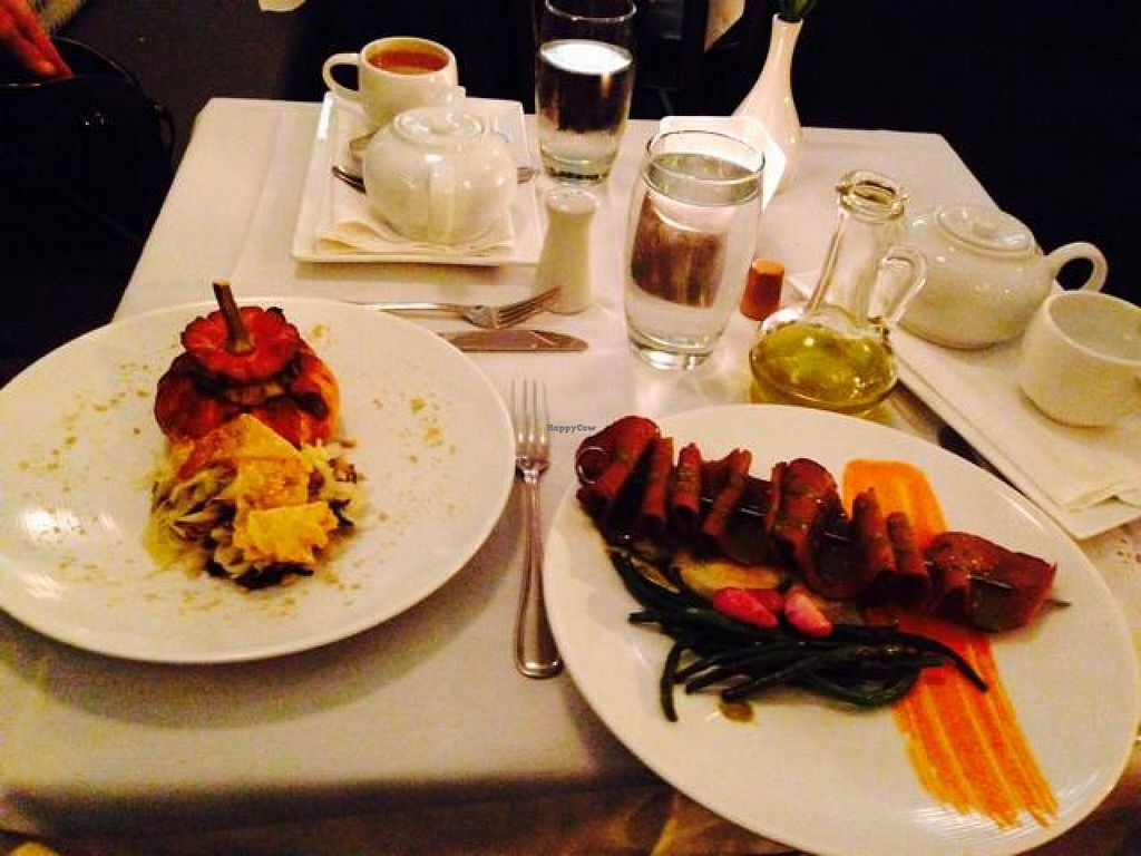 """Photo of True Bistro  by <a href=""""/members/profile/VeggiTiny"""">VeggiTiny</a> <br/>beautiful and extremely tasty food <br/> October 16, 2014  - <a href='/contact/abuse/image/24373/83088'>Report</a>"""