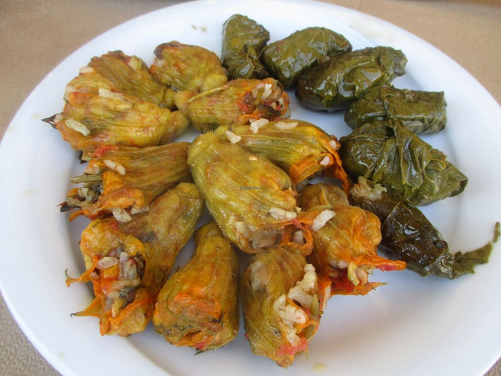 "Photo of To Stachi - Wheat  by <a href=""/members/profile/AnnaWacker"">AnnaWacker</a> <br/>Amazing Dolmades and Anthoi. ORDER THIS!  <br/> December 30, 2017  - <a href='/contact/abuse/image/24401/340832'>Report</a>"