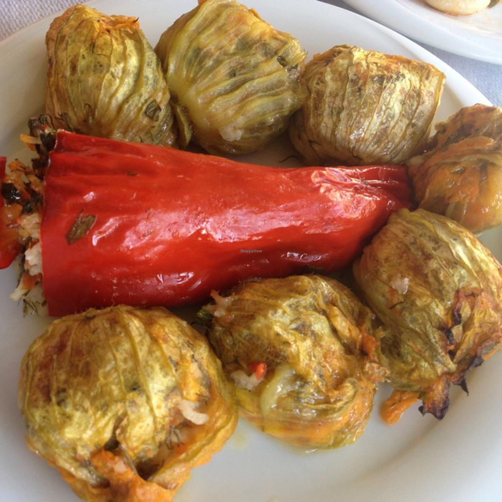 "Photo of To Stachi - Wheat  by <a href=""/members/profile/sophiefp"">sophiefp</a> <br/>stuffed courgette flowers and pepper <br/> April 22, 2015  - <a href='/contact/abuse/image/24401/99970'>Report</a>"