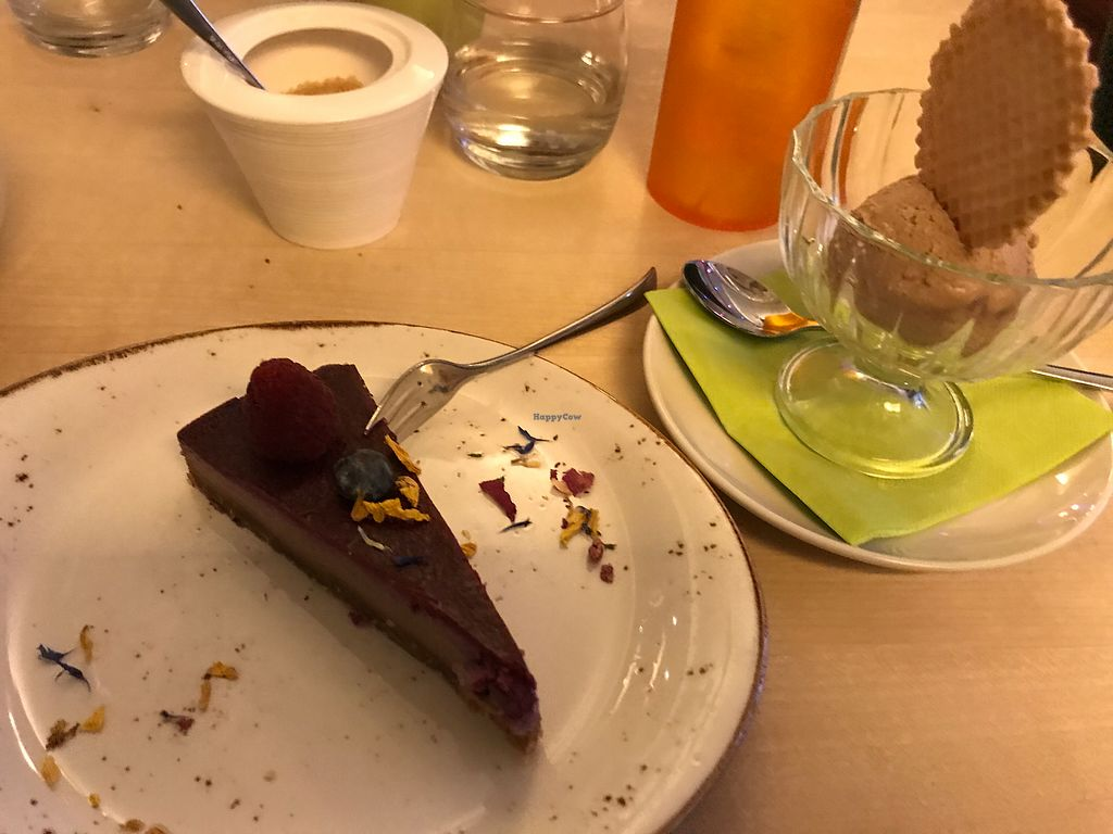 """Photo of Max Pett  by <a href=""""/members/profile/LolaNachtigall"""">LolaNachtigall</a> <br/>Raw Cake & Vegan Nougat Ice <br/> December 16, 2017  - <a href='/contact/abuse/image/24416/336173'>Report</a>"""