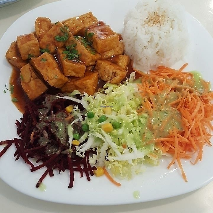 "Photo of Loving Hut - Jana Pawla - temporarily closed  by <a href=""/members/profile/TheTravellingVegan"">TheTravellingVegan</a> <br/>sweet and sour tofu <br/> June 23, 2017  - <a href='/contact/abuse/image/24424/272587'>Report</a>"