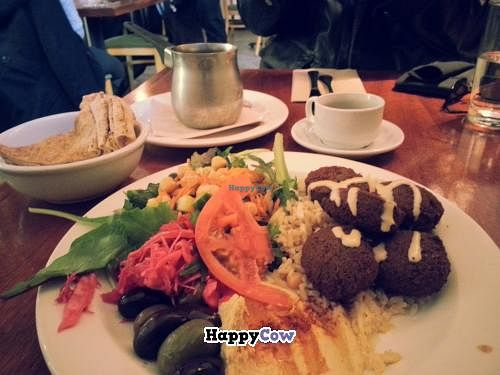 """Photo of Nuba - Gastown  by <a href=""""/members/profile/LenaAlex"""">LenaAlex</a> <br/>Falafel lunch plate with brown rice <br/> December 5, 2013  - <a href='/contact/abuse/image/24461/59909'>Report</a>"""
