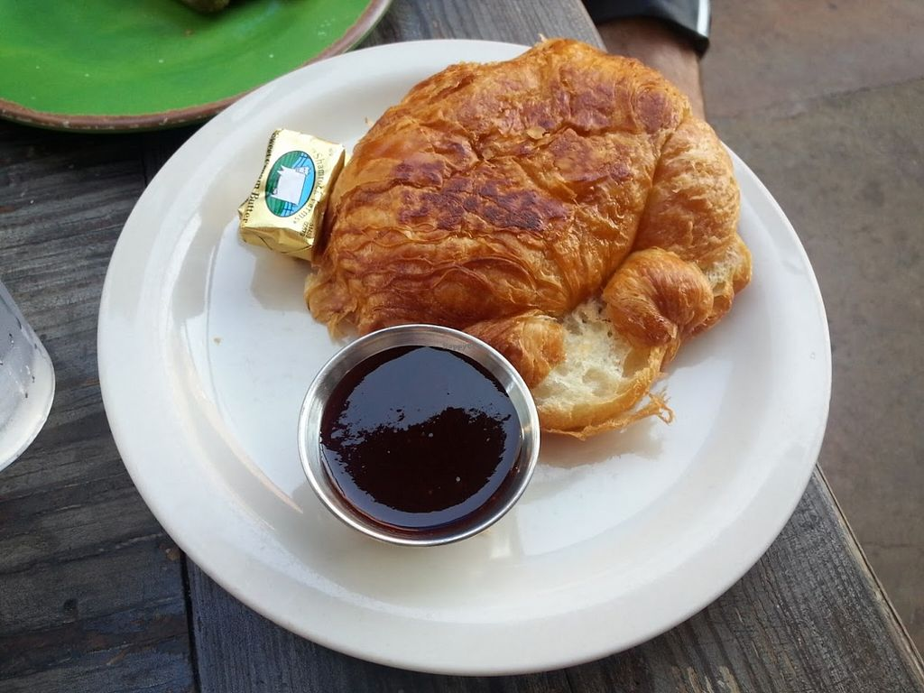 """Photo of Gypsy Den  by <a href=""""/members/profile/CTerrwyn"""">CTerrwyn</a> <br/>Croissant with jam! <br/> August 31, 2015  - <a href='/contact/abuse/image/24536/115976'>Report</a>"""