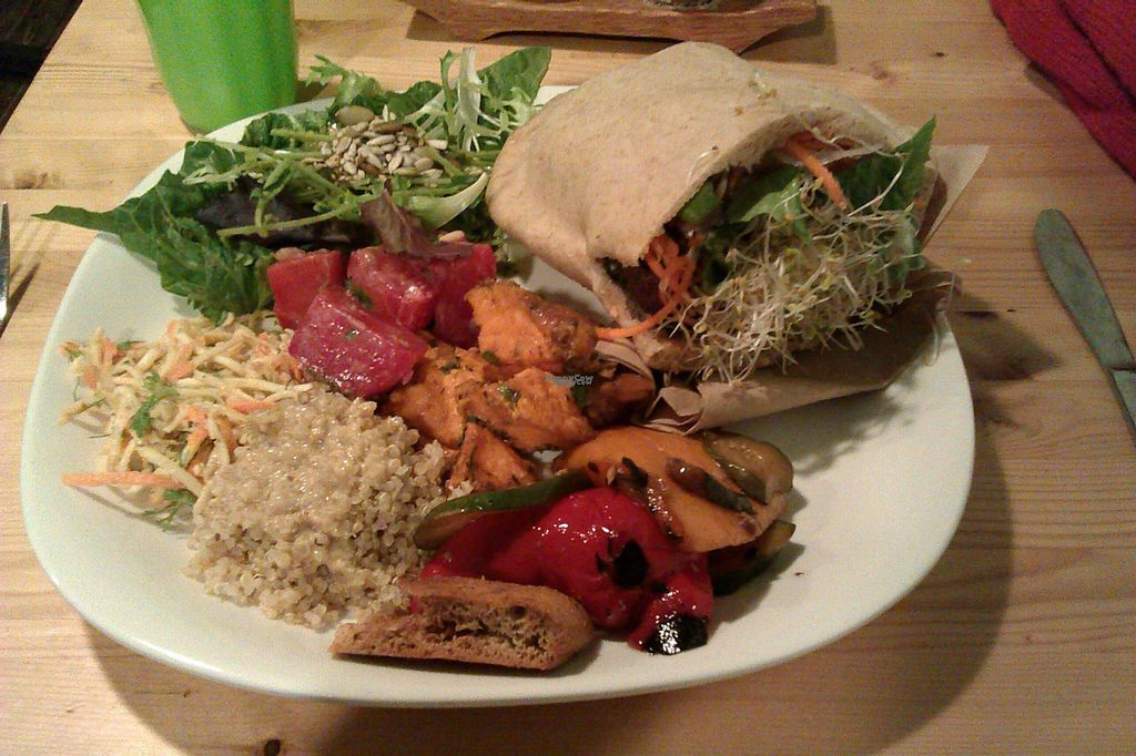 """Photo of Panthere Verte - Centre-Ville  by <a href=""""/members/profile/Vegan%20GiGi"""">Vegan GiGi</a> <br/>Green Panther's food is amazing. Photo taken in 2013 <br/> October 8, 2016  - <a href='/contact/abuse/image/24551/180513'>Report</a>"""