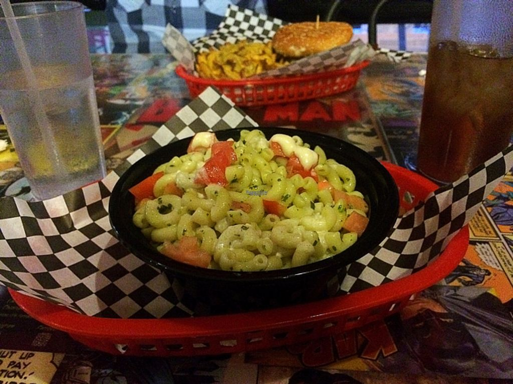 """Photo of Doomie's Home Cookin'  by <a href=""""/members/profile/thePLURvegan"""">thePLURvegan</a> <br/>pesto mac <br/> August 2, 2016  - <a href='/contact/abuse/image/24562/164436'>Report</a>"""