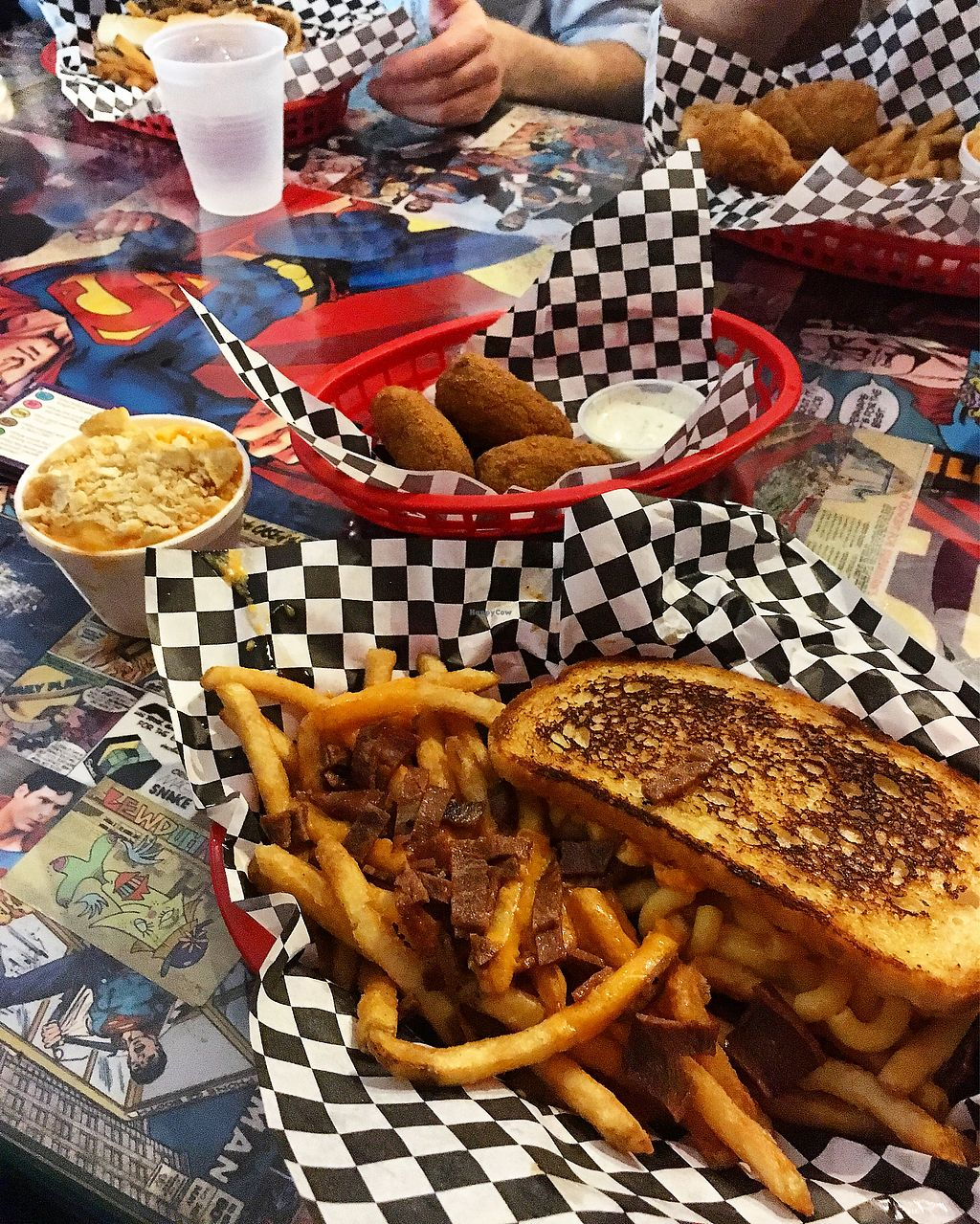 """Photo of Doomie's Home Cookin'  by <a href=""""/members/profile/totesmckee"""">totesmckee</a> <br/>Patty melt and jalapeño poppers  <br/> March 18, 2018  - <a href='/contact/abuse/image/24562/372219'>Report</a>"""