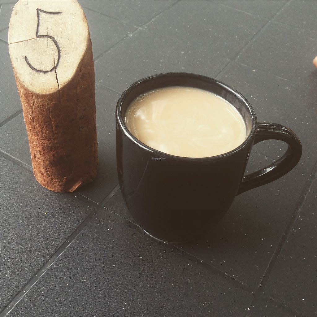 """Photo of 13th Ave Coffee House  by <a href=""""/members/profile/wildflowerc"""">wildflowerc</a> <br/>Enjoying my coffee while waiting for my meal to come <br/> August 5, 2015  - <a href='/contact/abuse/image/24576/112408'>Report</a>"""