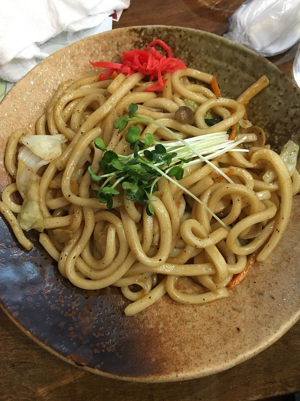 """Photo of Hippari Dako  by <a href=""""/members/profile/dartmouth2016"""">dartmouth2016</a> <br/>yaki udon noodles-- delicious! <br/> July 7, 2017  - <a href='/contact/abuse/image/24604/277402'>Report</a>"""