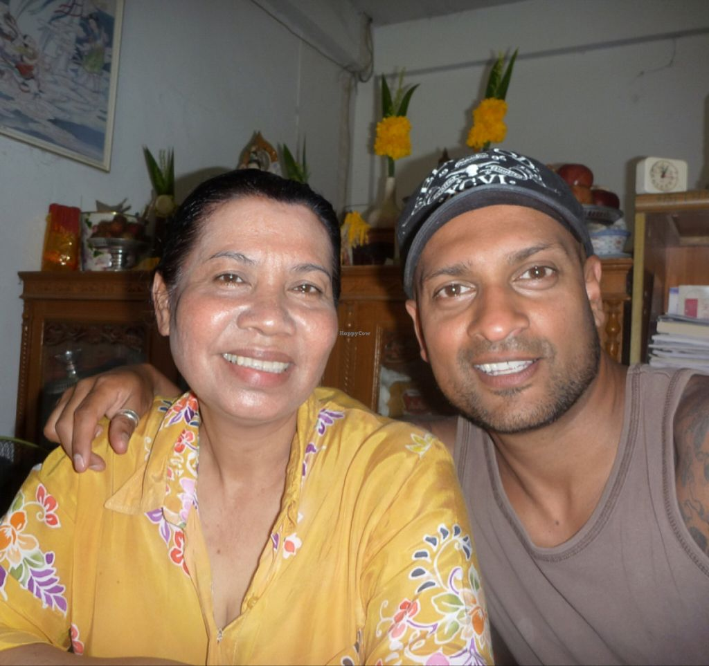 """Photo of Jay Tamachad  by <a href=""""/members/profile/Yohan%20Vegan%20Soul"""">Yohan Vegan Soul</a> <br/>Pi Lek, the lovely owner! <br/> April 5, 2016  - <a href='/contact/abuse/image/24613/142998'>Report</a>"""