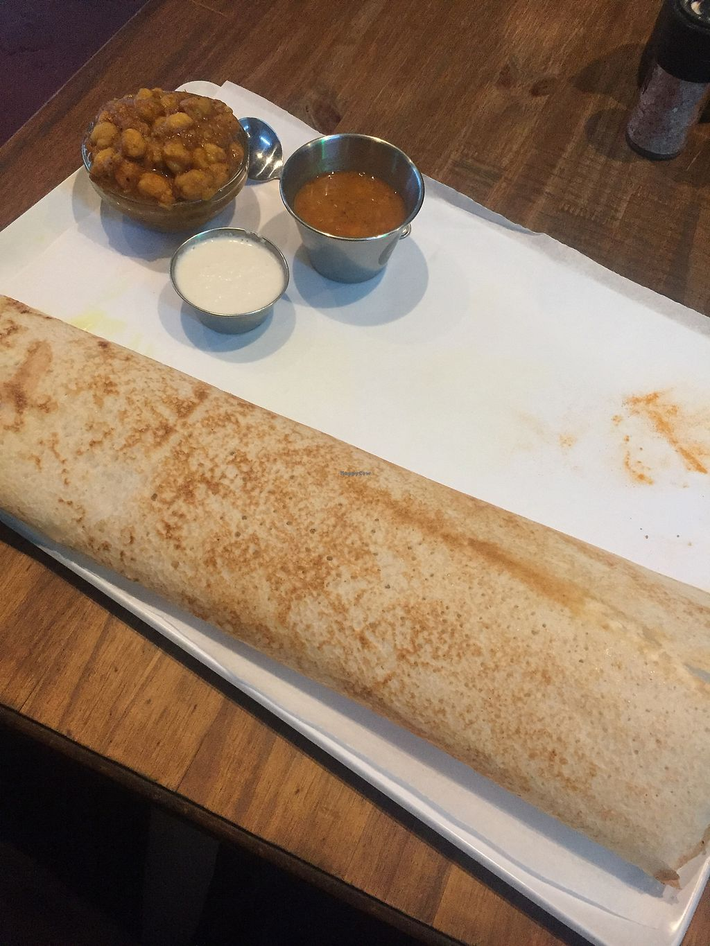 "Photo of The Masala Dosa  by <a href=""/members/profile/ryanwhatt"">ryanwhatt</a> <br/>Channa Dosa!! <br/> December 17, 2017  - <a href='/contact/abuse/image/24616/336574'>Report</a>"