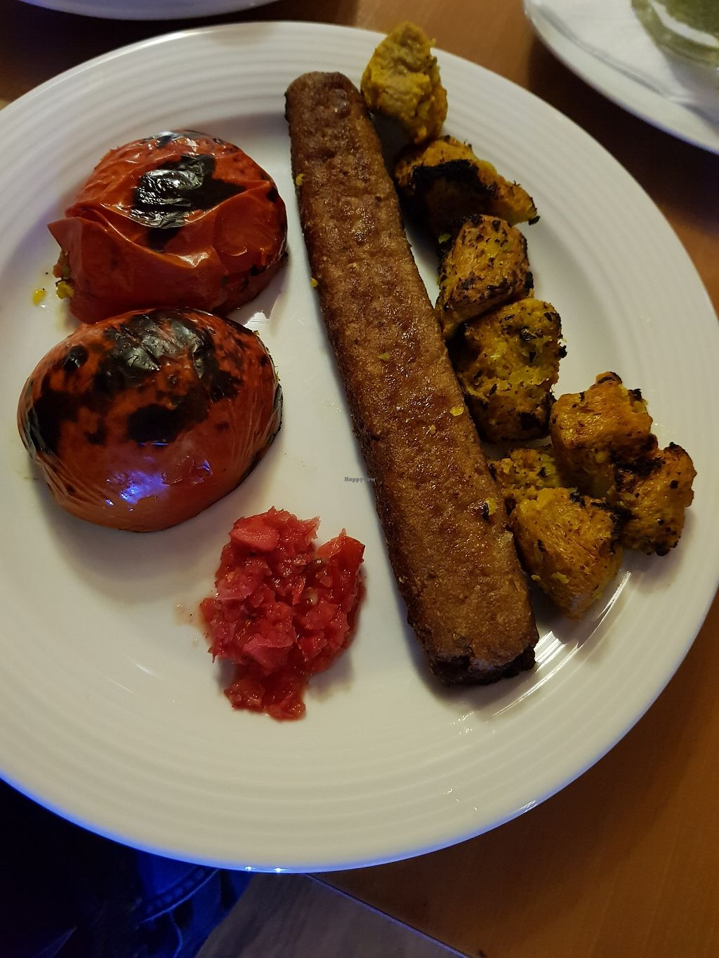 """Photo of Zamin  by <a href=""""/members/profile/Mirage"""">Mirage</a> <br/>Vegan kebab <br/> January 5, 2018  - <a href='/contact/abuse/image/24618/343114'>Report</a>"""