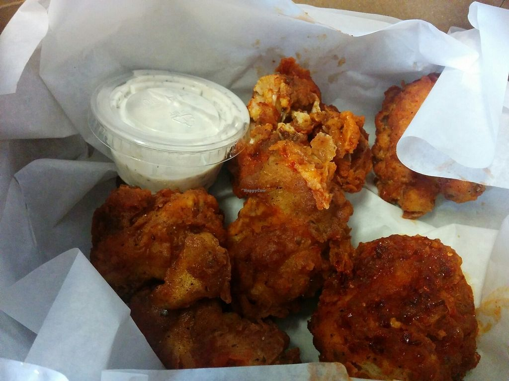 "Photo of Pepples Donut Farm  by <a href=""/members/profile/MizzB"">MizzB</a> <br/>Buffalo cauliflower <br/> July 1, 2017  - <a href='/contact/abuse/image/24634/275722'>Report</a>"