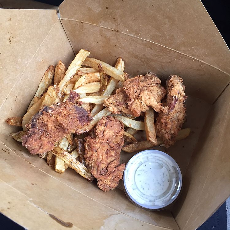 "Photo of Pepples Donut Farm  by <a href=""/members/profile/grrrowan"">grrrowan</a> <br/>fried ""chicken"" and fries with ranch, to go <br/> July 6, 2017  - <a href='/contact/abuse/image/24634/276997'>Report</a>"