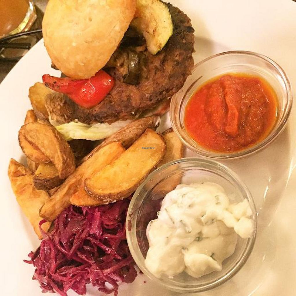 """Photo of Mlsna Kavka  by <a href=""""/members/profile/Mrchristian83"""">Mrchristian83</a> <br/>Great vegan tempeh burger! <br/> November 26, 2014  - <a href='/contact/abuse/image/24647/86547'>Report</a>"""
