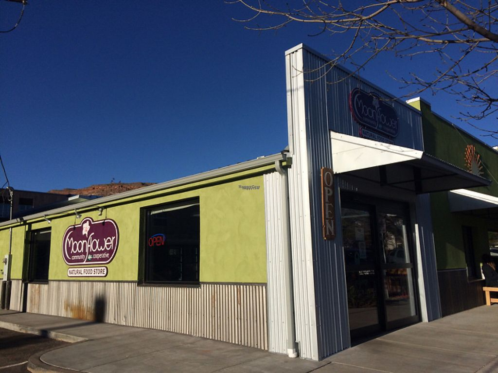 """Photo of Moab Community Cooperative  by <a href=""""/members/profile/Pearlpeachy"""">Pearlpeachy</a> <br/>store front  <br/> April 5, 2017  - <a href='/contact/abuse/image/24664/244822'>Report</a>"""