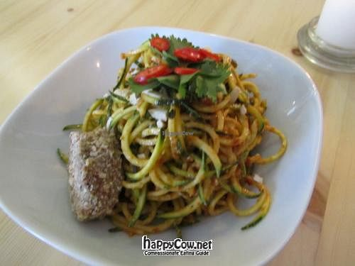 "Photo of CLOSED: simpleRaw - Oehlenschlaegersgade  by <a href=""/members/profile/CLRtraveller"">CLRtraveller</a> <br/>zucchini spaghetti with curry sauce <br/> June 4, 2012  - <a href='/contact/abuse/image/24669/32738'>Report</a>"