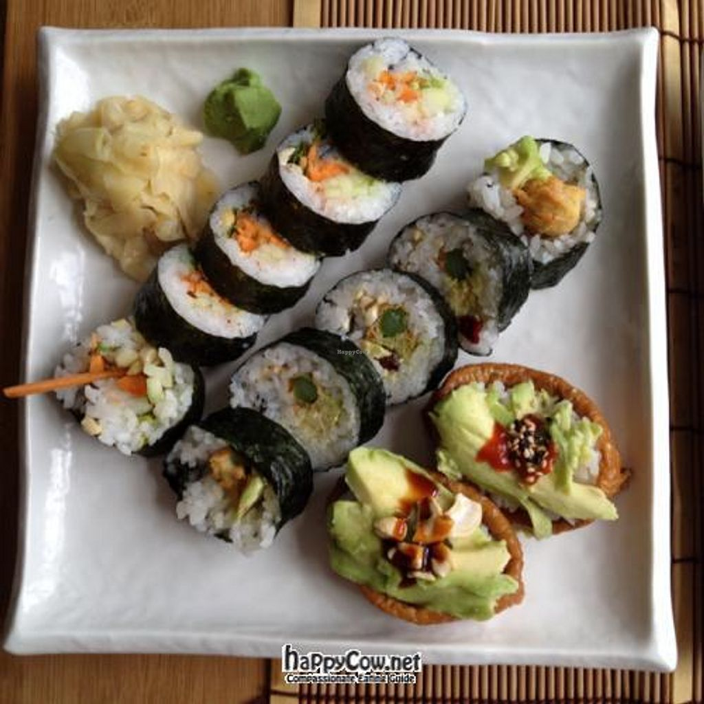 "Photo of REMOVED: Green Sushi  by <a href=""/members/profile/vegetariangirl"">vegetariangirl</a> <br/>sushi <br/> July 9, 2012  - <a href='/contact/abuse/image/24683/34280'>Report</a>"