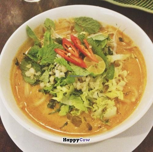 "Photo of CLOSED: Permai Village Cafe Vegetarian Delights  by <a href=""/members/profile/Teppiedoo"">Teppiedoo</a> <br/>laksa jahor  <br/> June 29, 2013  - <a href='/contact/abuse/image/24687/50457'>Report</a>"