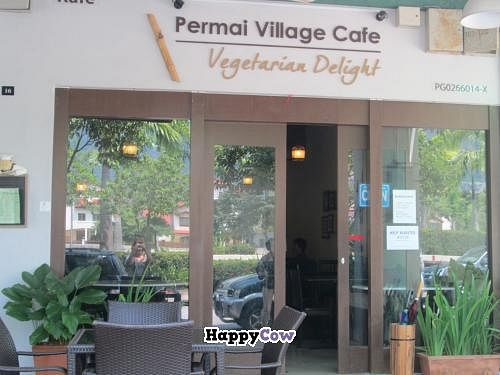 "Photo of CLOSED: Permai Village Cafe Vegetarian Delights  by <a href=""/members/profile/Fruity%20Suzanne"">Fruity Suzanne</a> <br/>Located in a quiet location overlooking park and hills <br/> October 28, 2013  - <a href='/contact/abuse/image/24687/57479'>Report</a>"